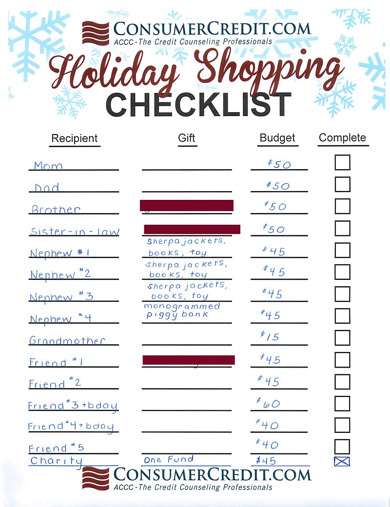 Make a Shopping List-15 Hacks And Tips To Make Your Online Shopping Cheaper This Holiday Season