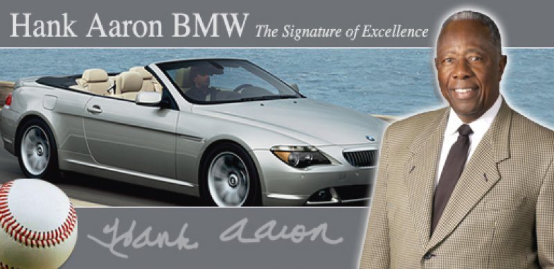 Hank Aaron Car Dealership