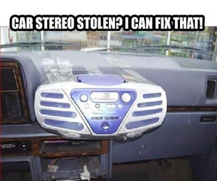 Why To Buy Car Stereo When You Can Stick A Cassette Player-15 Times Engineers Showed How To Fix Things Easily