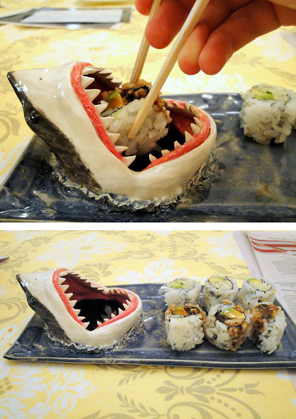 Shark Food Plate-15 Perfect Gift Ideas For Food Lovers