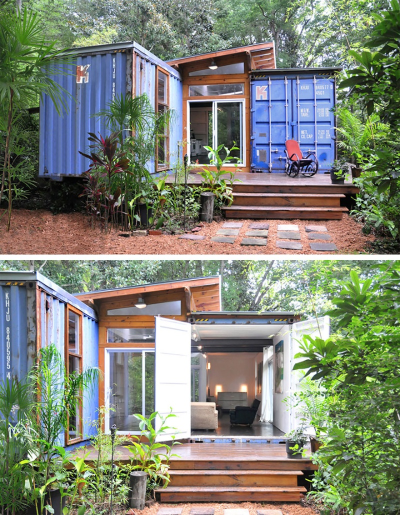When Shipping Container Becomes a House-15 Tiniest Houses Which Are Small From The Outside But Big On The Inside