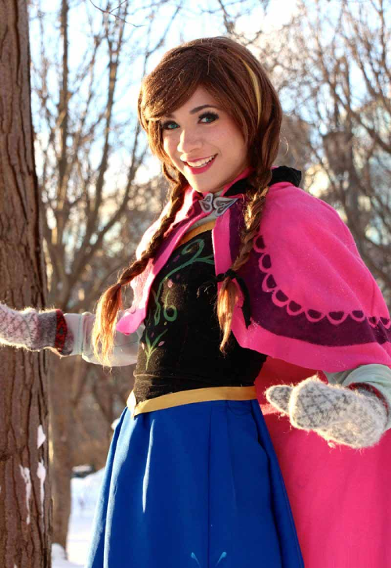 Anna, Frozen-15 Best Disney Cosplays You'll Ever See