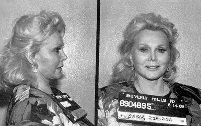 Zsa Zsa Gabor-15 Celebrities Who Spent Time In Prison