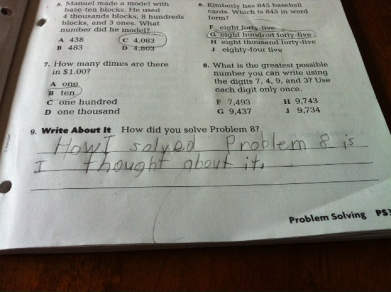 This Kid Who Got the 9th Answer Right-15 Troll Kids That Are Sure To Make You Laugh
