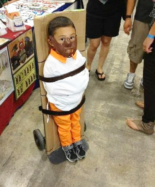 Hannibal Lecter Costume-15 Disgusting Kids Halloween Costumes Ever