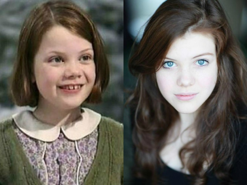 Georgie Henley-15 Images That Show Puberty Doing It Right