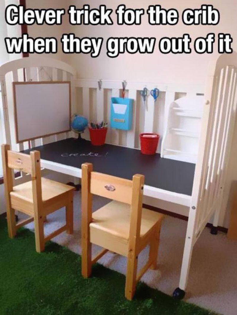 This Awesome Crib Hack-15 Parenting Hacks That Will Make You Super Parents