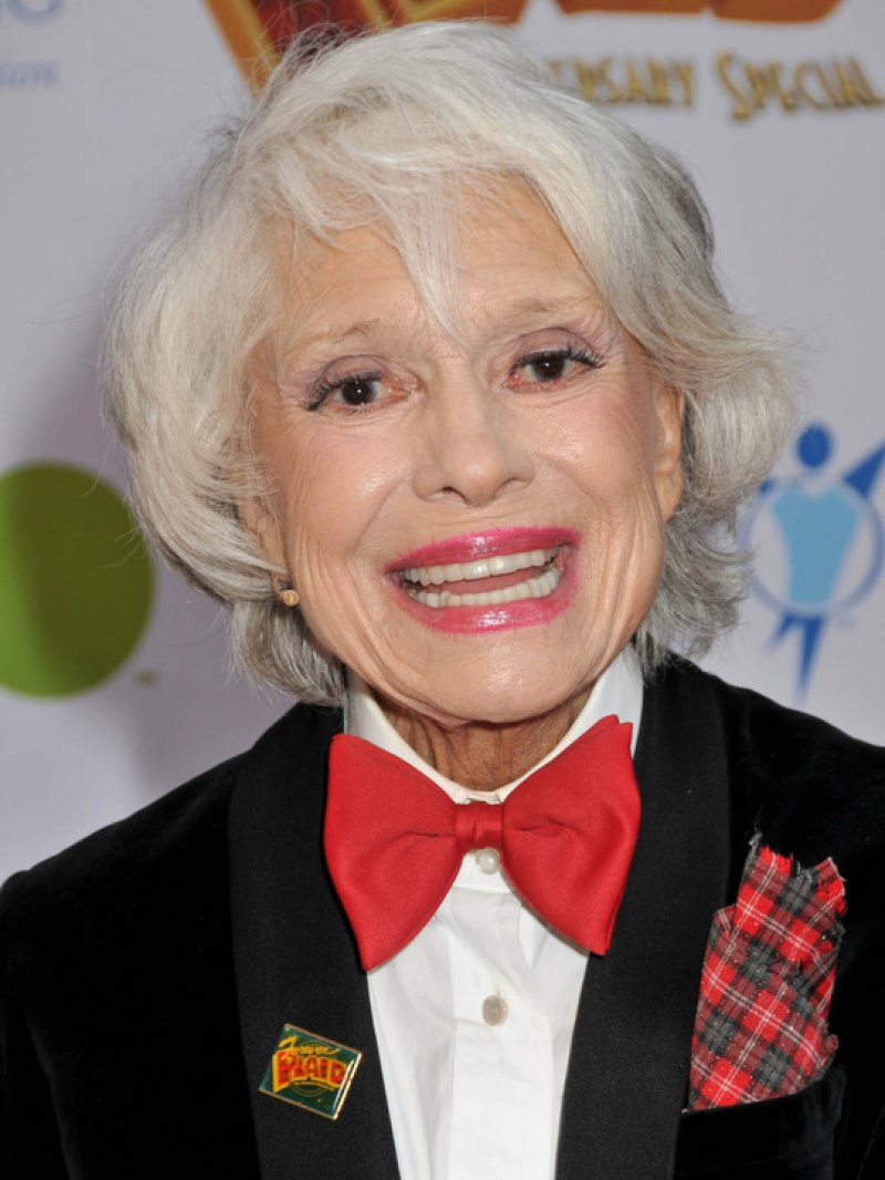 Carol Channing-12 Celebrities Whose Parents Are Of Different Races