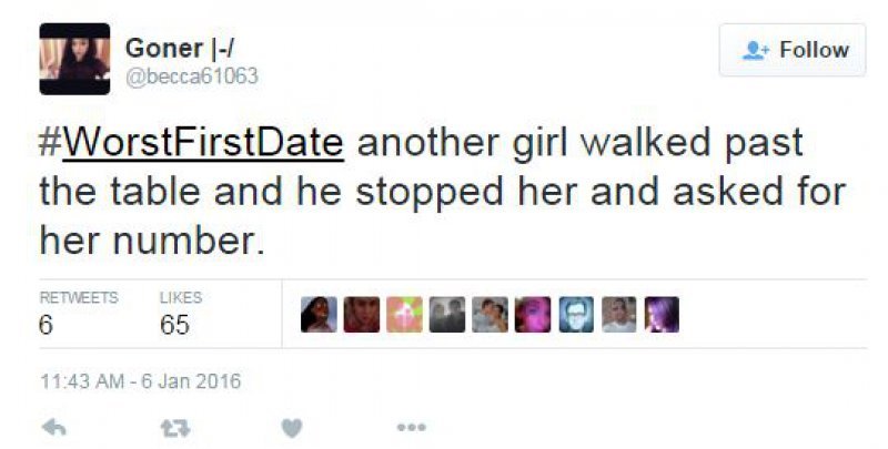 Exactly the Kind of Men Most Women Hate to Meet-15 People Confess Their Worst First Date On Twitter