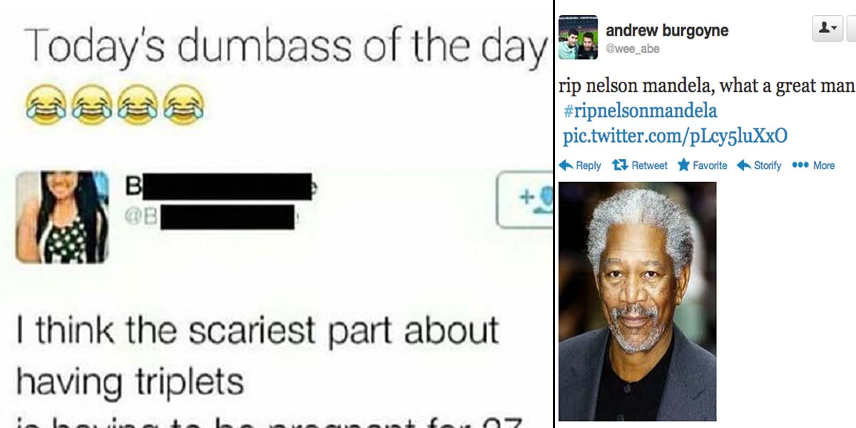 15 Dumbest Tweets Ever