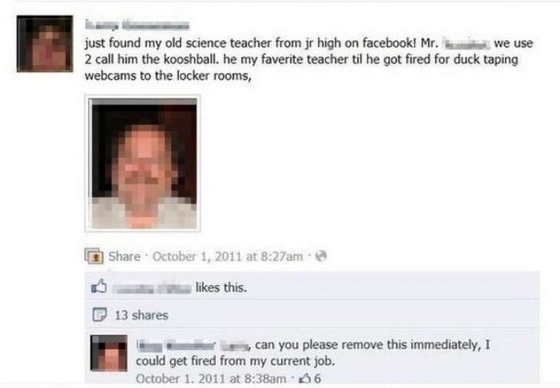 This Awkward and Hilarious Teacher Fail-15 Teachers And Their Epic Facebook Fails