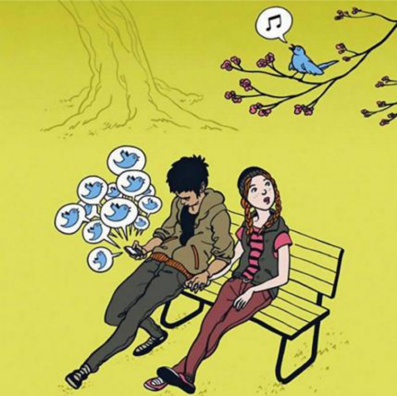 When Birds Used to Tweet!!!-15 Comics That Show How Smartphones Have Ruined Our Lives