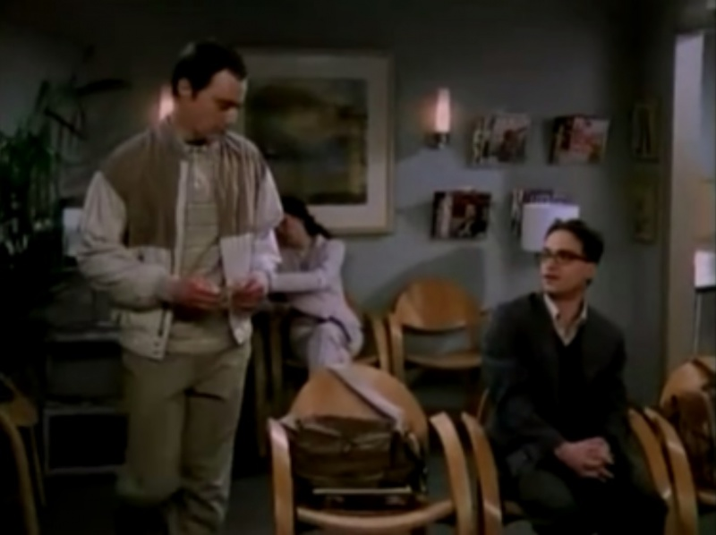 The Sperm Bank-The Big Bang Theory Unaired Pilot Episode