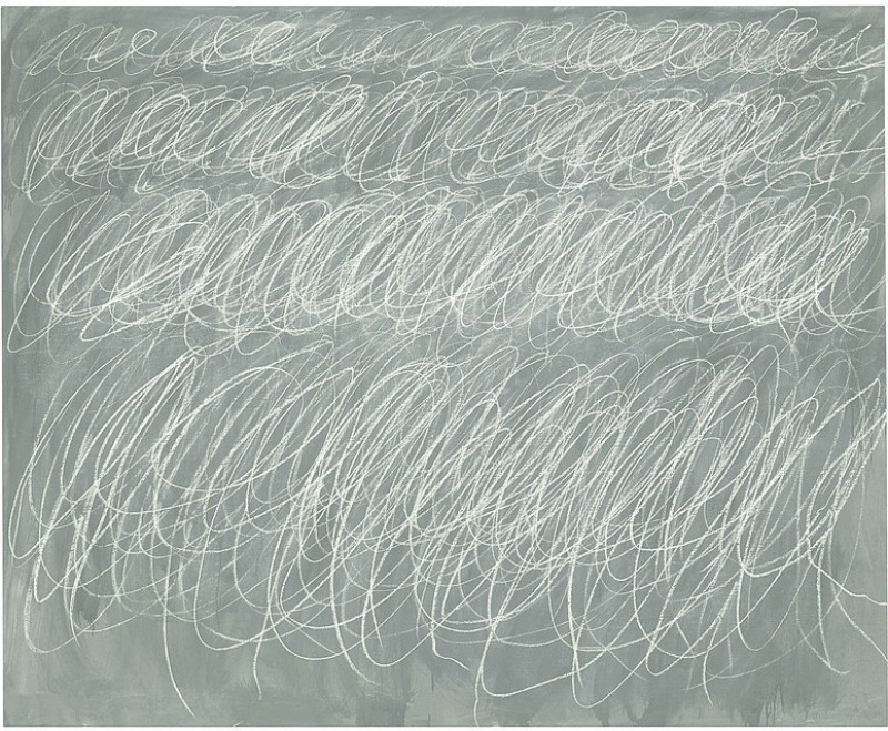 Untitled, 1970 by Cy Twombly (.6 Million)-15 Ridiculous Paintings Sold For Millions Of Dollars