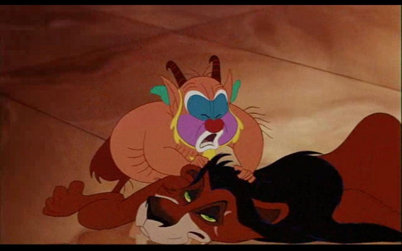 Lion King �Scar� in Hercules-15 Disney Movie Secrets You Don�t Know