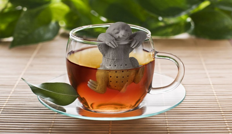 This Otter Infuser is Enjoying a Hot Bath-15 Tea Infusers Those Are Amazingly Adorable