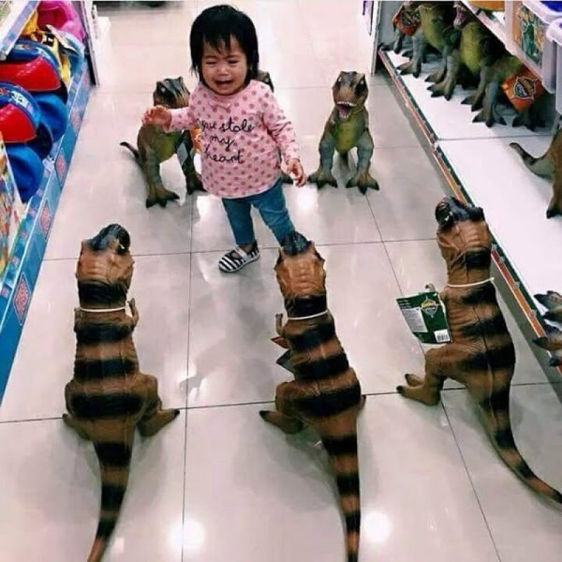 Jurassic Mall?-15 Images That Will Make You Say 'Me As A Parent'