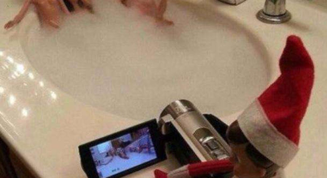 15 Hilarious Photos Of The Elf On The Shelf Gone Wrong