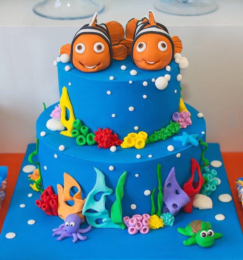 Finding Nemo Cake-15 Amazing 3D Cartoon Model Cakes Ever