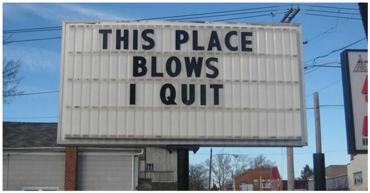 Another Billboard Quit-15 People Who Quit Their Job In Style