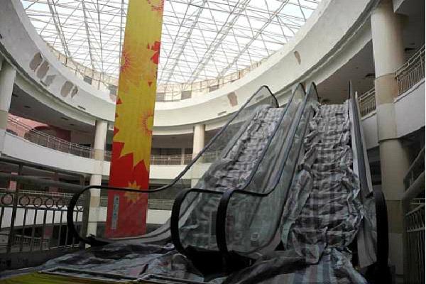 Biggest Mall - China-Amazing Abandoned Mega Structures