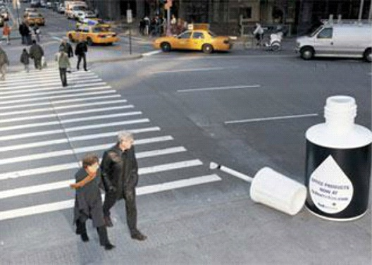 White Out-Most Creative Street Ads