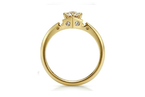 Crown For the Beauty Engagement Ring-Disney Engagement Rings