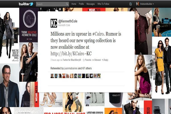 Kenneth Cole-Worst Publicity Disasters