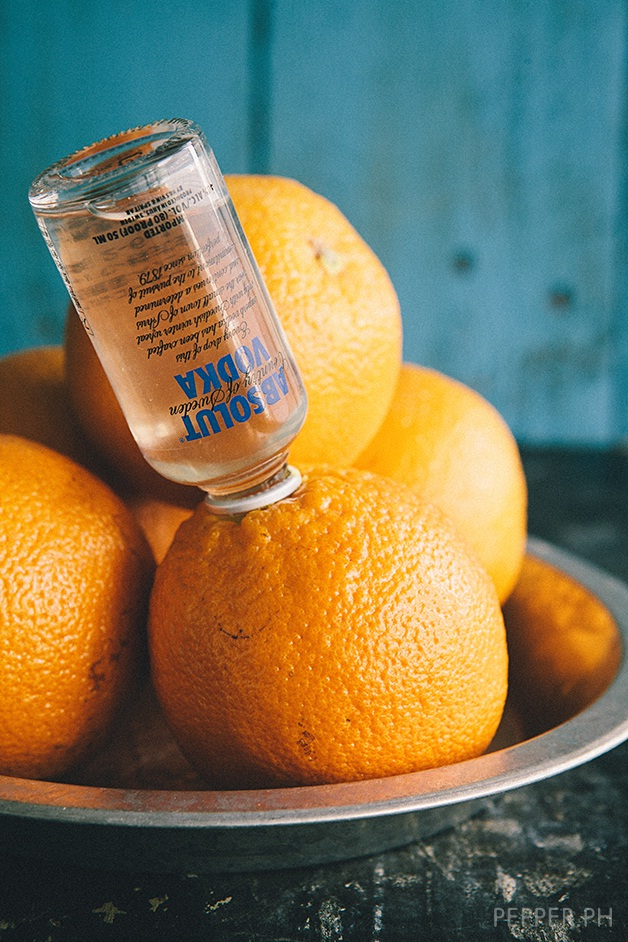 Vodka and orange-Amazing Booze Hacks