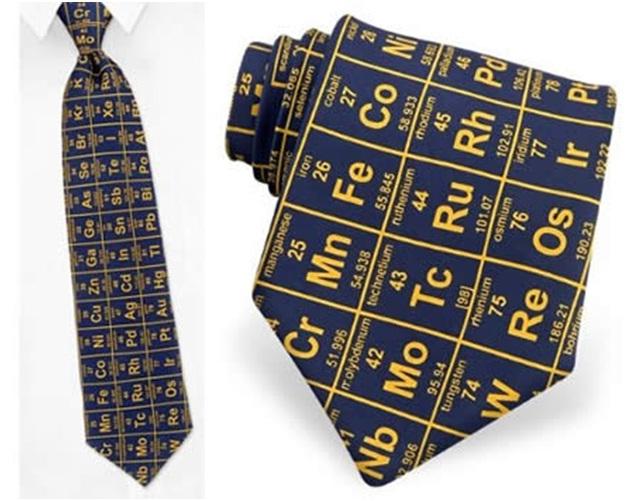 Periodic table-Geekiest Ties