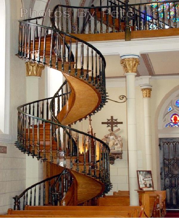 Loretto Chapel - Santa Fe, New Mexico-Amazing Staircases In The World