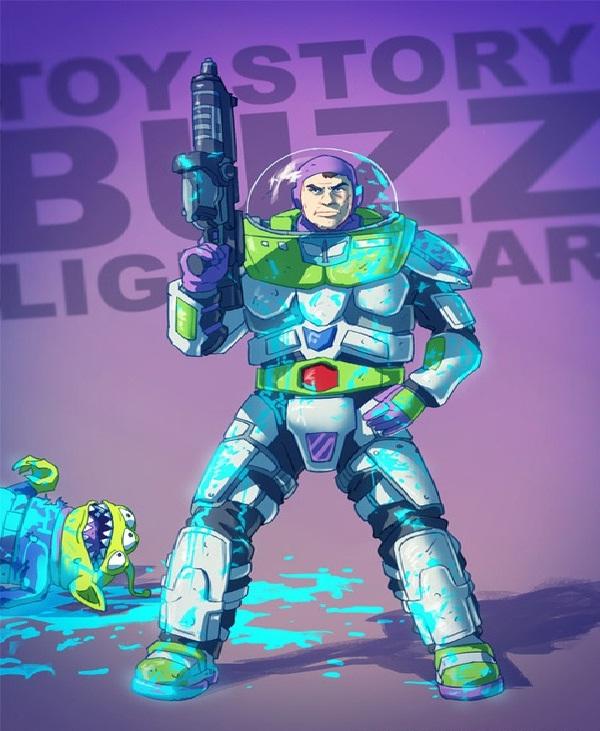 Buzz Lightyear-Bad Versions Of Popular Cartoon Characters