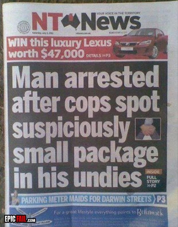 Poor Guy-12 Funniest Newspaper Headlines Ever Written