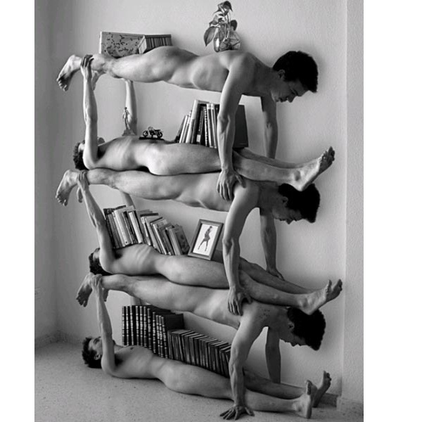 Human Furniture-World's Strangest Furniture