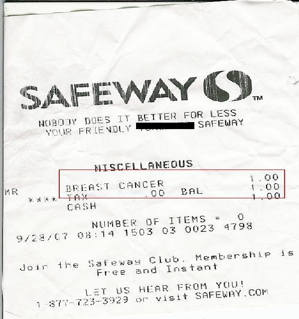 In a supermarket?-Funniest Receipts Of All Time
