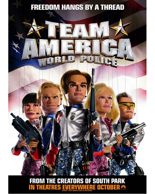 Team America: World Police-Best Comedy Movies Of All Time