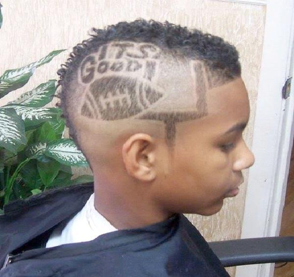 Touchdown-Awesome Hair Tattoos
