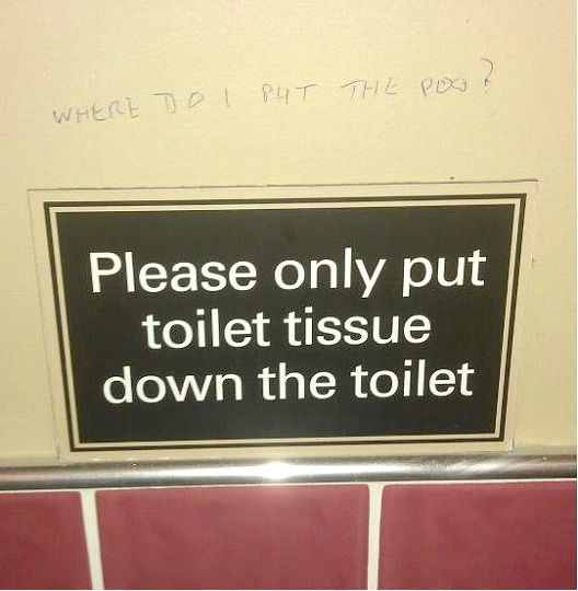 No Poo In The Toilet-12 Smart And Witty Replies To Written Notes