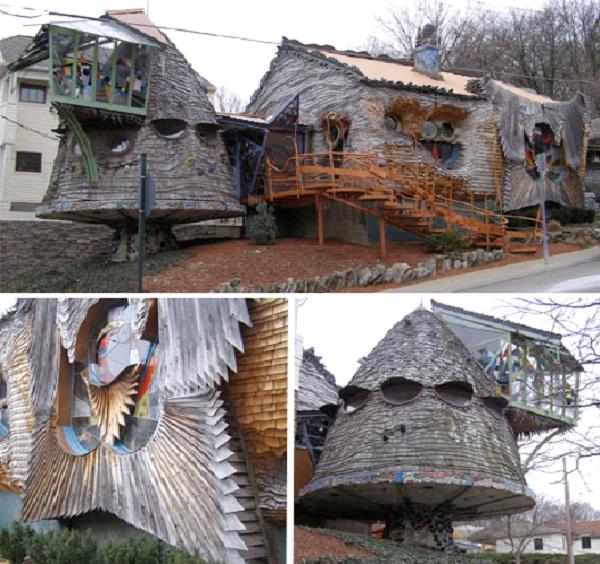 Mushroom House - Cincinnati, Ohio-Most Amazing Houses