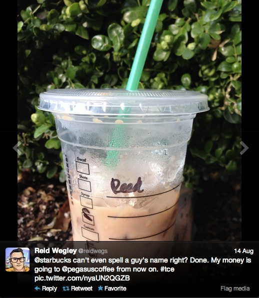 A valiant attempt-Funny Starbucks Cup Spelling Fails