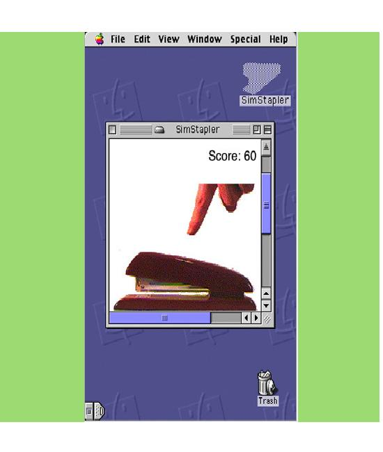 Sim Stapler-Craziest IPhone Apps