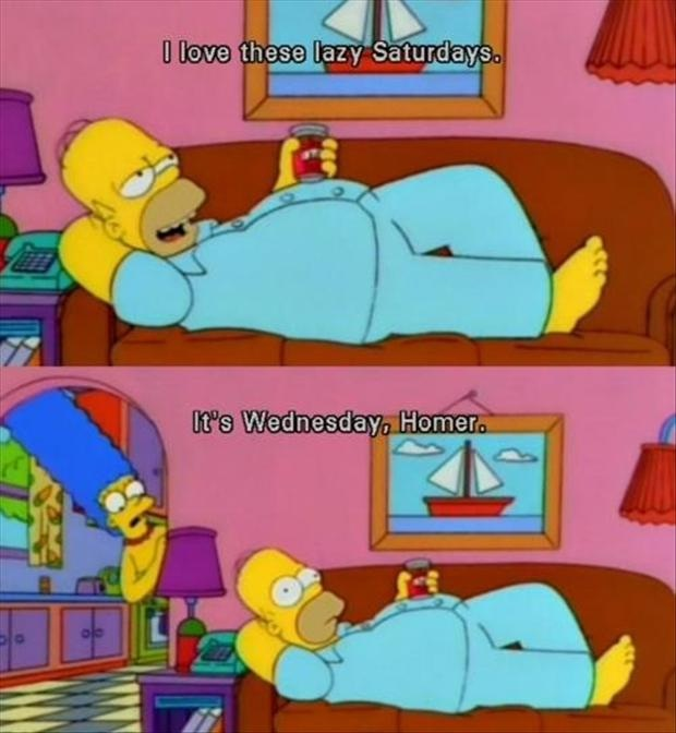 Lazy-Best Simpsons Quotes