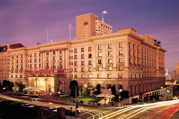 The Fairmont, San Francisco-Most Famous Hotels Around The World