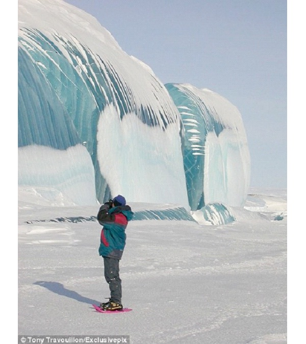 Frozen Wave-Most Amazing Ice Formations