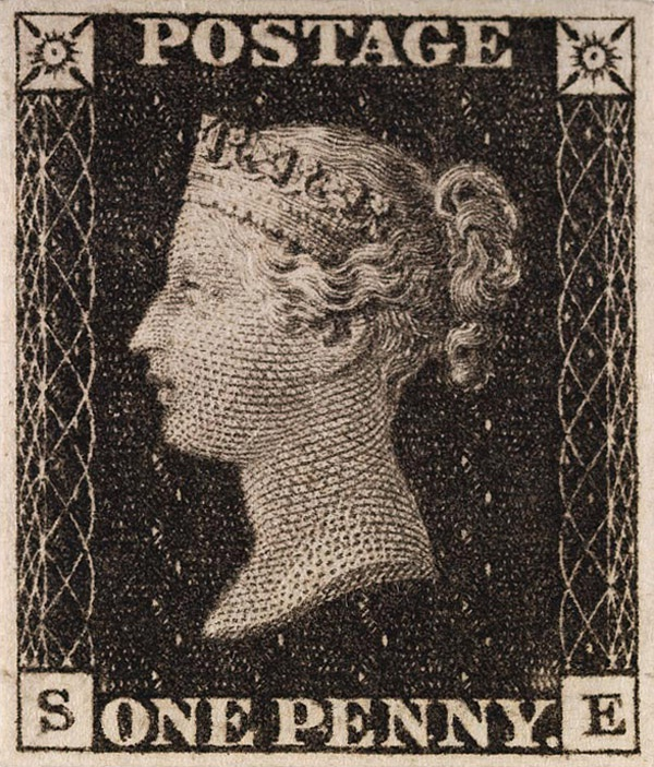 First postage stamp-World's First Thing
