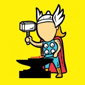 Hammer of Thor-If Superheroes Had Part Time Jobs