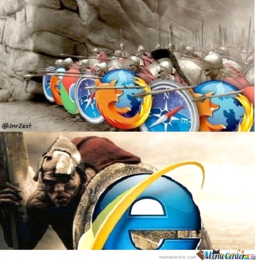 Browser Wars-12 Funniest Internet Explorer Memes Ever