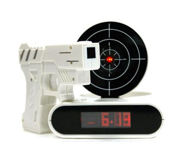Shoot It-Cool Alarm Clocks