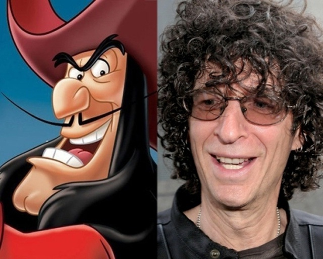 Howard Stern-Disney Look A Like Celebrities
