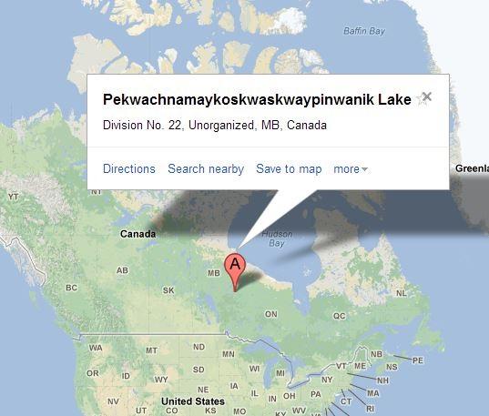 Pekwachnamaykoskwaskwaypinwanik-12 Longest Place Names In The World